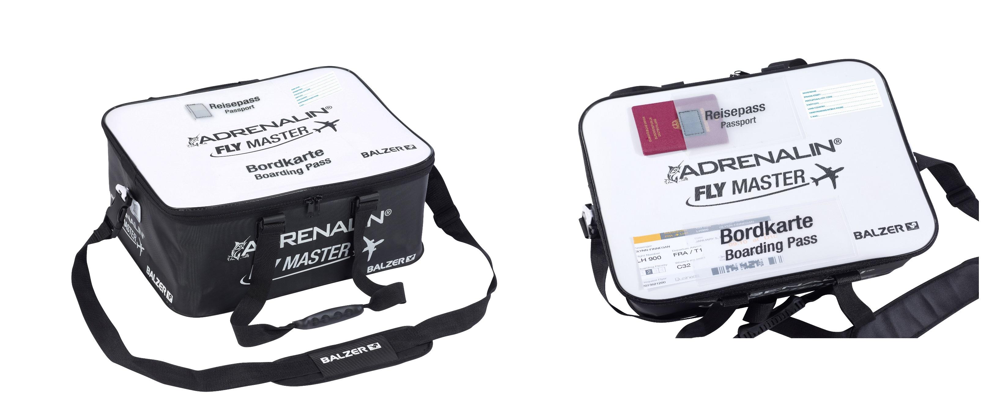Balzer adrenalina Flymaster BAG bagaglio a mano-tasca di raffreddonnato per la Norvegia Islanda ecc.